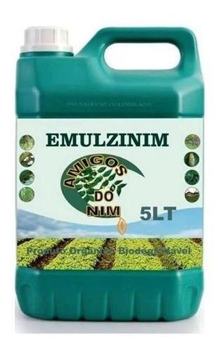 Óleo Vegetal Extrato Emulsionado Para Jardim Horta 5 Litros