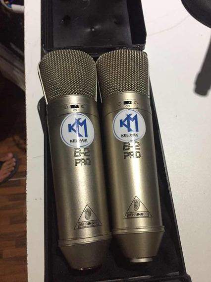 Par De Microfones Behringer B2 Pro