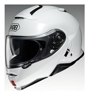 Casco De Moto Shoei Solid Neotec 2 Modular Blanco Grand