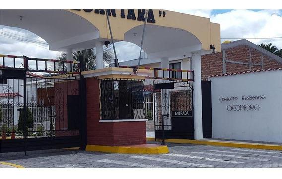 Oportunidad Terreno 187 M2 Urb. Alcantara Valle Los Chillos