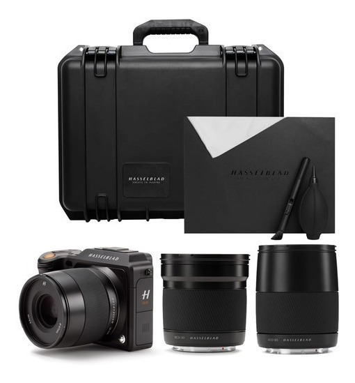 Hasselblad X1d-50c X1d 50c Kit Com 30mm 45mm 90mm