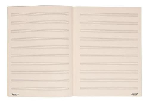 Cuaderno Pentagrado D Addario B10s-48st