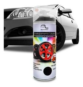 Spray Envelopamento Líquido 400ml Preto Fosco Multilaser
