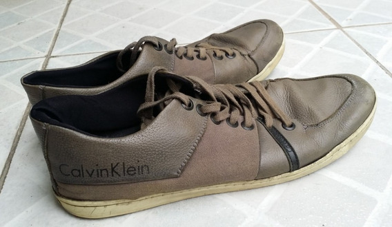 Tênis Calvin Klein Cinza - Tamanho 43
