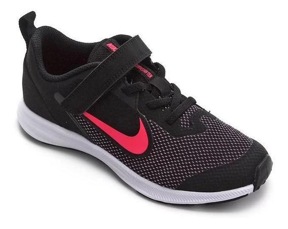 Tênis Infantil Nike Downshifter 9 Rosa/preto Orig.c/nf