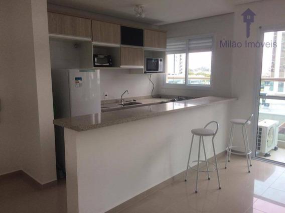 Apartamento Com 1 Dormitório À Venda, 35 M² - Parque Campolim - Sorocaba/sp - Ap0961