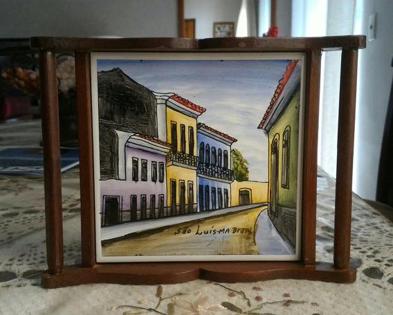 Quadro Em Azulejo Pintura Sao Luis Maranhao