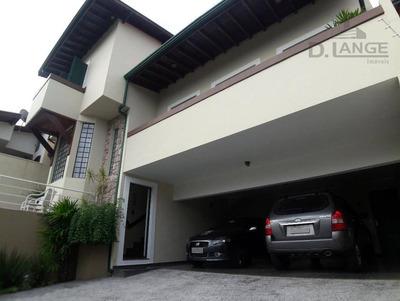 Casa Com 4 Dormitórios À Venda, 310 M² Por R$ 2.200.000 - Jardim Nossa Senhora Auxiliadora - Campinas/sp - Ca11671