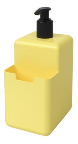 Imagem 1 de 3 de Dispenser Para Pia Detergente Esponja Bucha Sabão Líquido