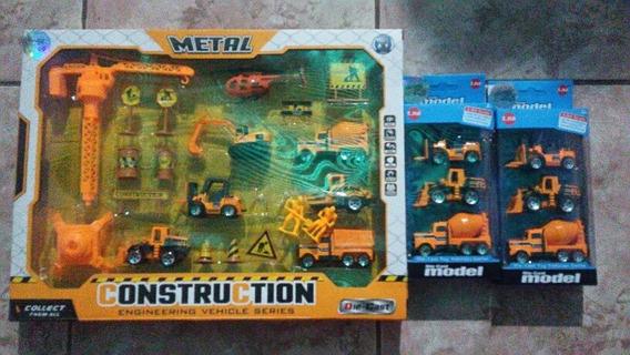 Set Die Cast Metal Construccion