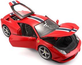 Burago Race E Play Ferrari 458 Specialle 1/18 - 16002 - Verm