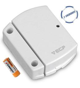 Kit 04 Sensor Magnetico Sem Fio 433 Mhz Intruder Ecp