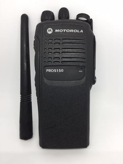 C272-radio Pro5150 Is Vhf C/ Bateria Is Usada+base+fonte+antena