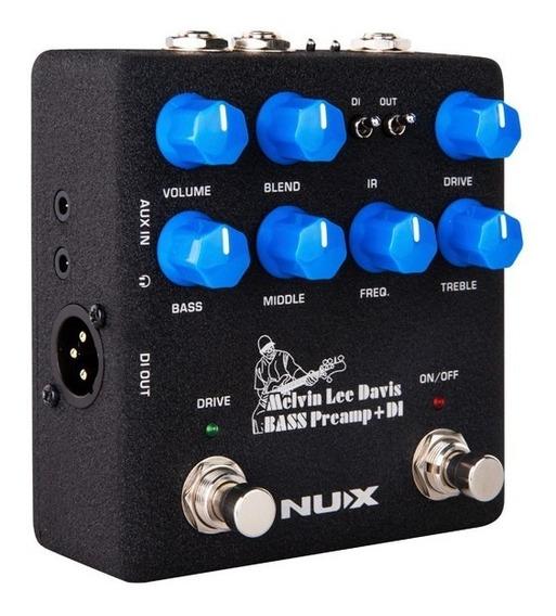 Pedal Nux Melvin Lee Davis Bass Preamp E Di Nbp-5