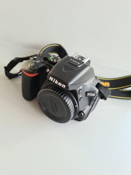 Câmera Nikon D5500 Com 2 Lentes, Acessórios E Bolsa