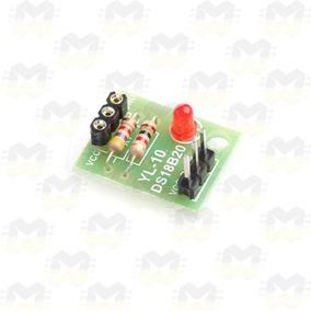 Módulo Adaptador Para Sensor De Temperatura Ds18b20