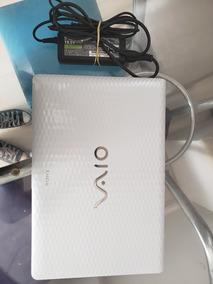 Notebook Sony Vaio Branco - Usado