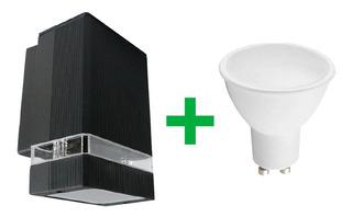 Aplique Unidireccional Exterior Aluminio Led 7w Tech Full