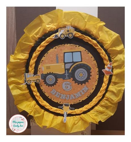 Imagen 1 de 2 de Piñata Infantil Construcción/ Cotillón/ Cumpleaños