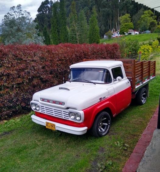 Ford 100 1959 F100 Estacas