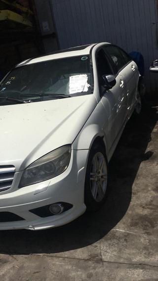 Mercedes Benz C350 2009 Sucata Para Venda De Peças