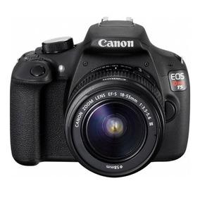 Câmera Digital Dslr Canon Eos Rebel T5 18mp Lente Ef-s18-55m