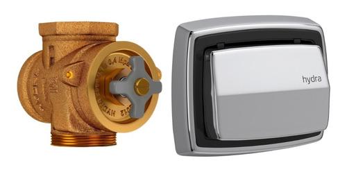 Válvula + Tecla Descarga Para Inodoro Deca Hydra Max Cromo