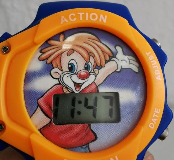 Reloj Paleta Payaso Ricolino Usado Ar2