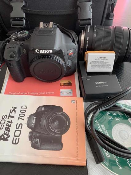 Máquina Fotográfica Eos Rebel T5i