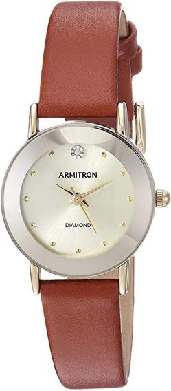 Armitron   Reloj Para Mujer   75/2447chgpbn   Original
