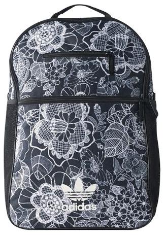 667c8888e Mochila adidas Essential Farm Florido Preto /branco Original - R$ 249,99 em  Mercado Livre