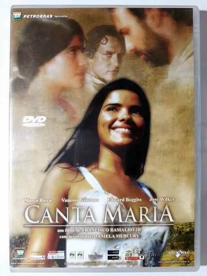 Dvd Canta Maria Marco Ricca Vanessa Giacomo Jose Wilker Orig