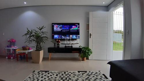Casa Em Guarujá Com 3 Dormitórios - Lu430850
