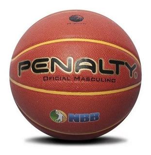 Bola De Basquete Penalty Pro 7.6 Cross Over Selo Fiba E Nbb