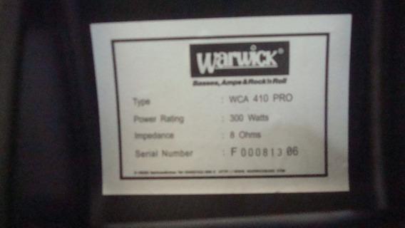 Caixa Para Amplificador De Baixo Wca 410 Warwick Troco