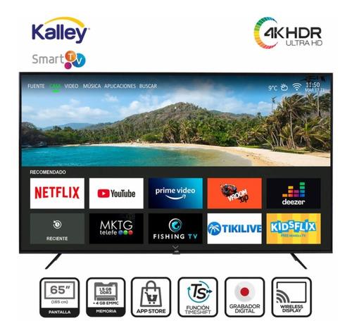 Tv Kalley 65  164 Cm K-stv65uhdt Led 4k Uhd Plano Smart Tv