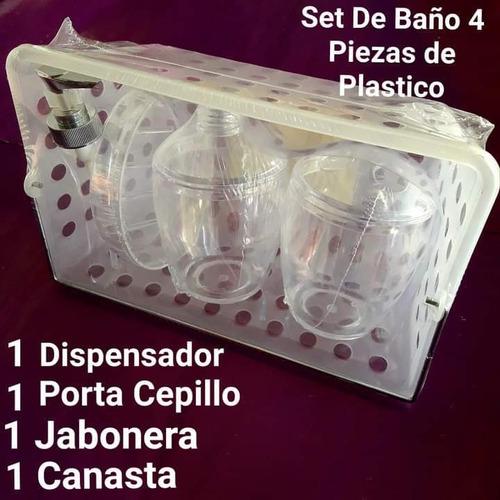 Set De Accesorios De Tres Piezas Para Baño O Lavabo. Nuevos