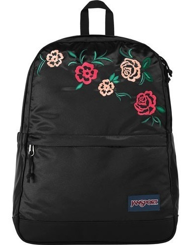 Mochila Jansport Mujer Negro New Stakes Js0a3p5p5y7