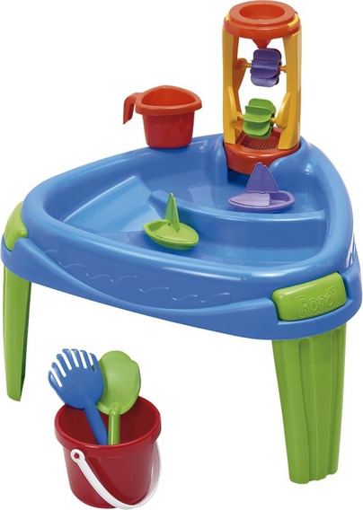 Mesa De Trabajo Play Table Juegos Para Niños Rondi
