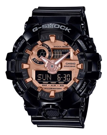 Relógio Masculino Casio G-shock Ga-700mmc-1adr - Preto