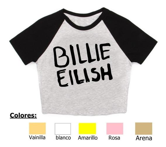 Remera Billie Eilish 3 Pupera