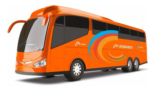 Onibus Roma Bus Executive Abre Bagageiro - Roma Brinquedo