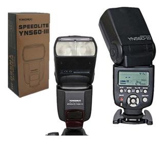 Flash Yongnuo Yn-560iii Speedlite Camaras Nikon Canon Oferta