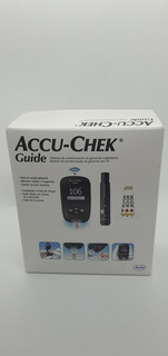 Accuchek Guide Glucometro Kit Nuevo Cerrado Con Punzador