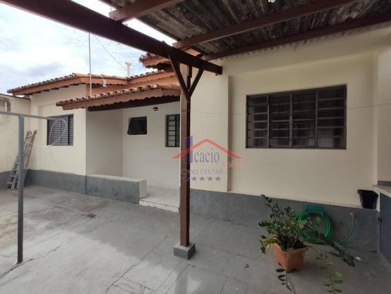 Casa Com 1 Dormitório Para Alugar, 80 M² Por R$ 1.200/mês - Parque Taquaral - Campinas/sp - Ca0570