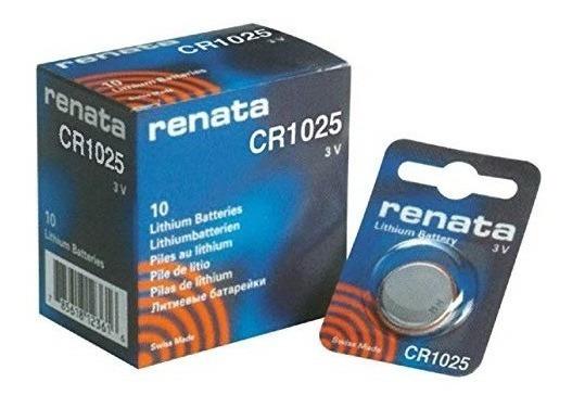 Bateria Renata Cr1025 Lithium 3v 30mah Swiss Made Com Nfe