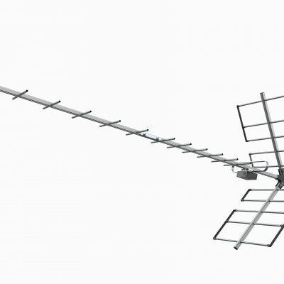 8 Antena Digital Yagi Prohd-1118