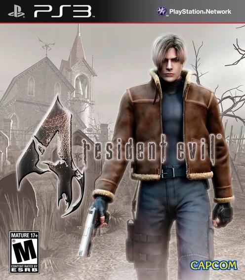 Resident Evil 4 Ps3 Jogo Comprar Psn