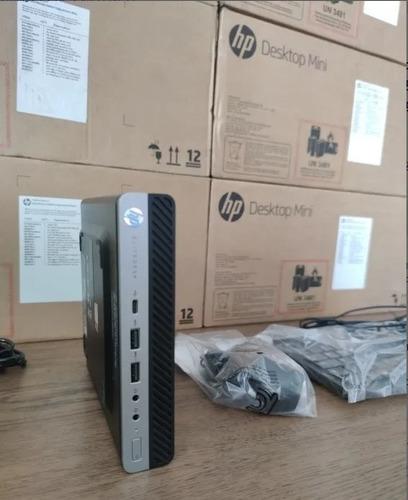 Mini Pc Hp Prodesk Intel Core I7-8700 8gb, Ssd M2 Nvme 256gb