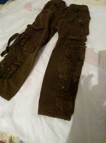 Pantalon Tipo Militar Para Niños